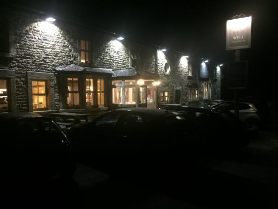 Redwell Inn at night