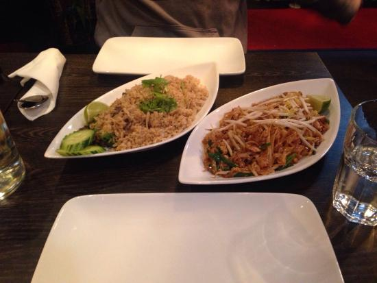 Chicken Pad-Thai. Beef Fried-rice. - Picture of MELT Thai ...