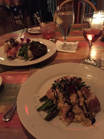 Sunset Grille: Valentine dinner