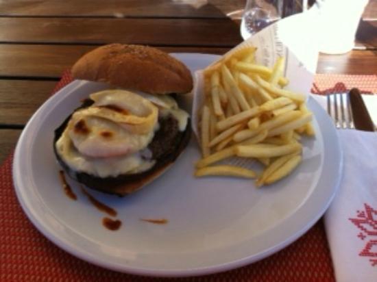 Aiguille Grive: verbrannter Hamburger
