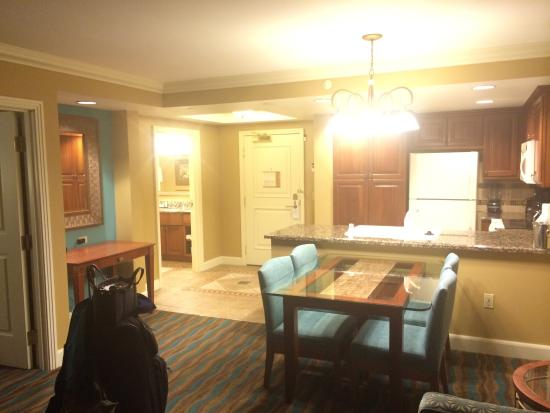 1 bedroom suite picture of hilton grand vacations suites - Vegas 3 bedroom suites on the strip ...