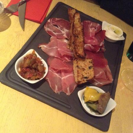 Rigatoni Cafe Eragny Carte