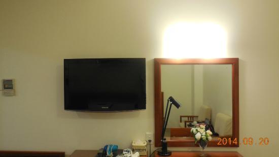 Lan Lan Hotel 1: TV、ドライヤーあり。