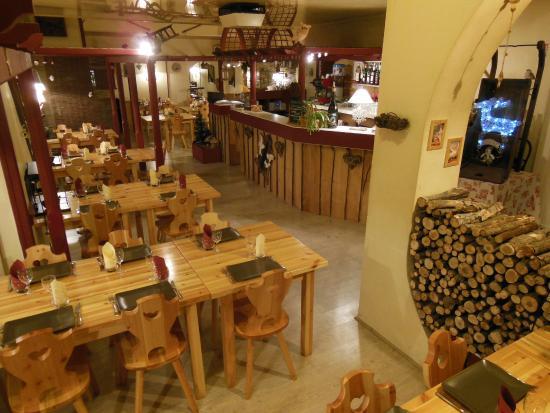 La Marmotte : salle du restaurant