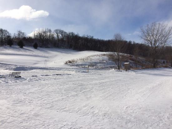 Justin Trails Resort: Beautiful Winter views.