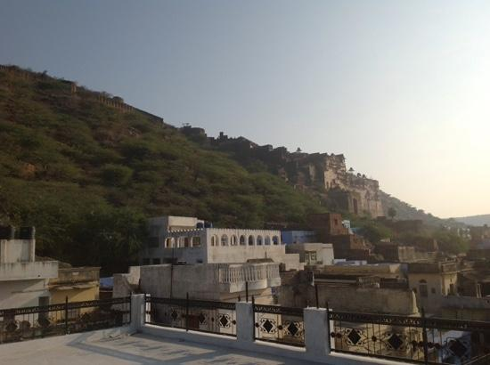 Rajmahal: view from the rooftop of Raj Mahal