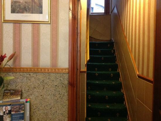Seven Dials Hotel: le scale un po strette