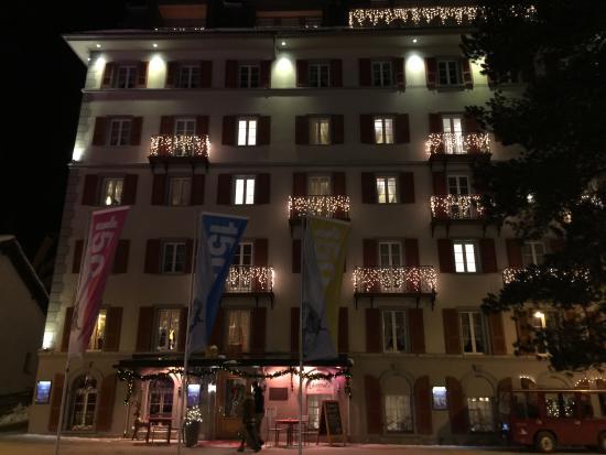 Hotel Monte Rosa: Hotellet
