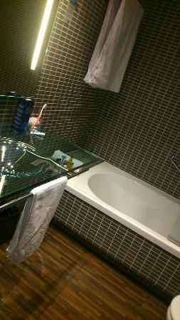 Sercotel Ciutat D'Alcoi Hotel: Baño de habitación normal