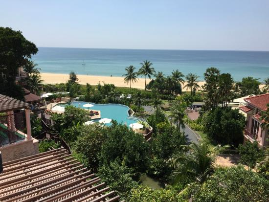 view from hotel picture of centara grand beach resort. Black Bedroom Furniture Sets. Home Design Ideas