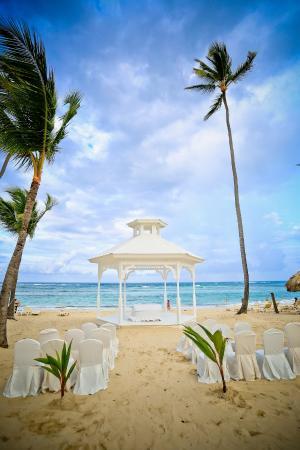 Majestic Colonial Punta Cana Beach Wedding Gazebo