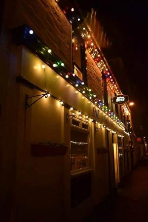 Port Bannatyne, UK: Christmas lights
