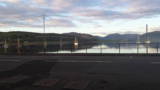 Port Bannatyne, UK: Our view