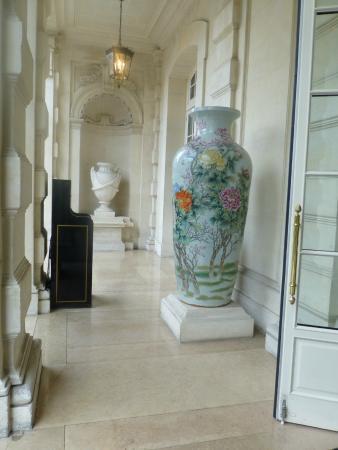magnifique entrée du Shangri-La hôtel