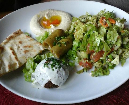 La Bekaa : assortiment chaud et froid