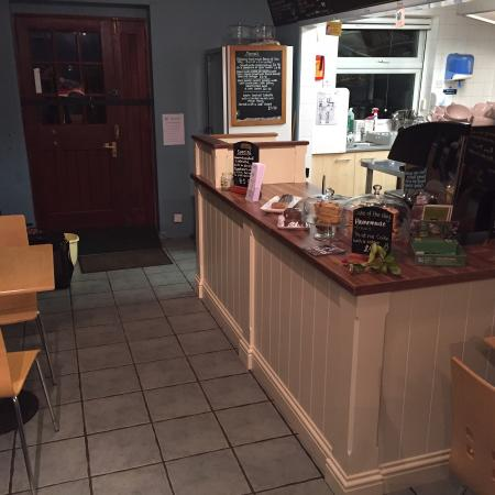 Waterside Cafe: New front counter