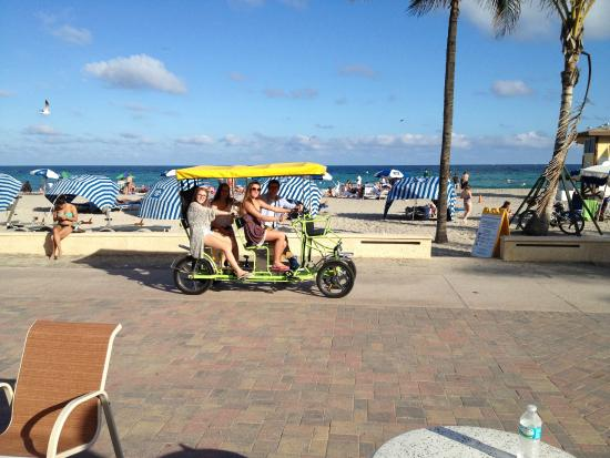 Hollywood Beach Marriott Bike Als On The Boardwalk