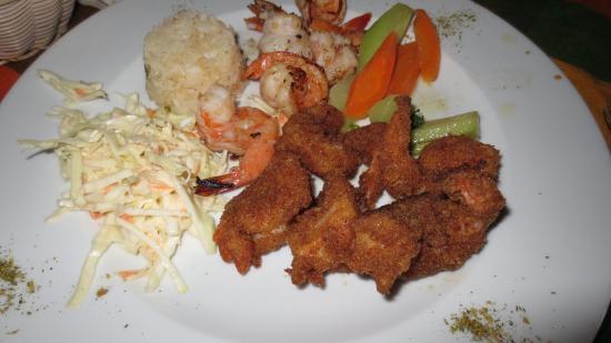 Sticky Fingers Grill House : Shrimp dinner