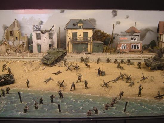 National Army Museum: Maqueta del Día-D.