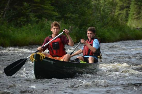 Weston, ME: Learning to run the rapids
