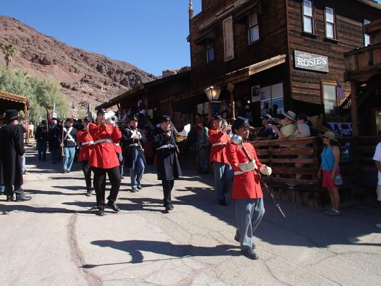 Calico Ghost Town: Union Soldiers On The March