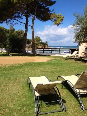 Hapimag Resort Cefalu : Il green sul mare
