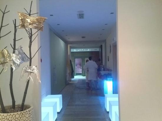 Garda Sporting Club Hotel: Ingersso zona saune