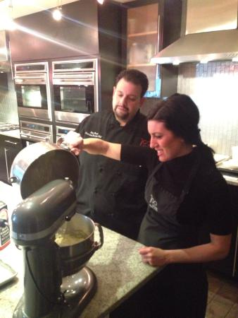 chef peter russo and desiree picture of 700 kitchen