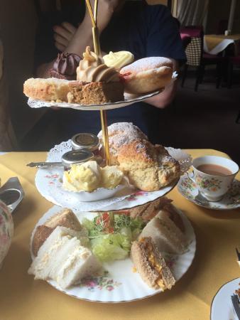 Miss B's Tea Rooms: Yummy tier of goodies