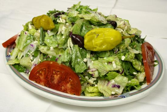 Acropolis Pizza : Greek Salad