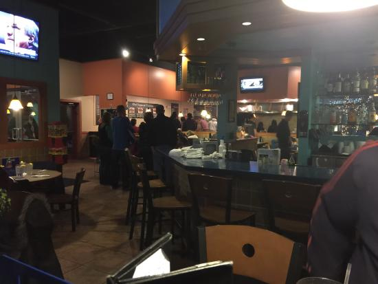 Blue Pacific Grill: Inside is a little small