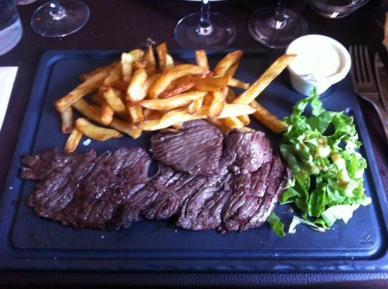 Made In Normandy: bavette sauce livarot et frites maison