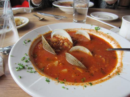 Coxsackie, Нью-Йорк: Manhatten Clam Chowder