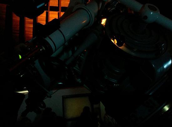 Urania-Sternwarte: Telescopio