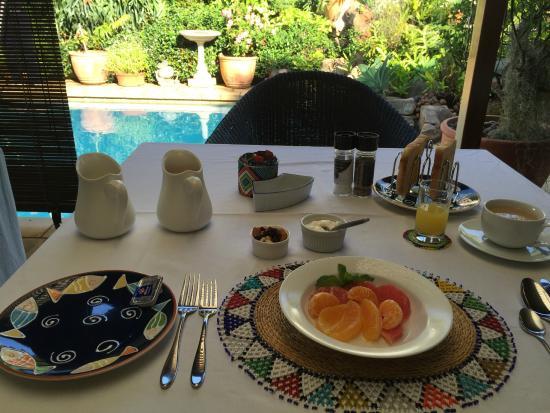 Manaar House : Presentazione del breakfast