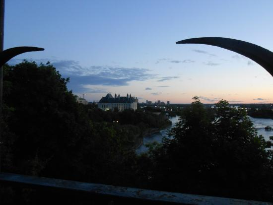 Ottawa, Canadá: Linda vista da cidade.