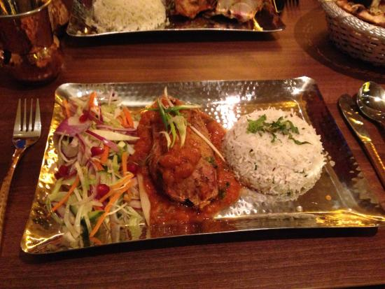 Стокпорт, UK: Tandoori Duck main.
