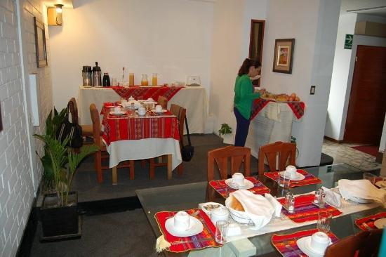 Casa Bella Miraflores: Café da manhã