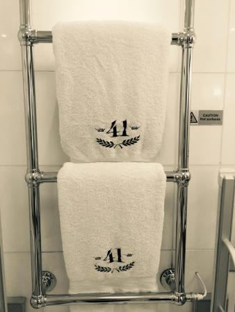 Lovely towels