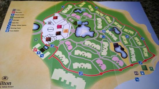 Hotel Map Picture Of Hilton Marsa Alam Nubian Resort Marsa Alam - Map of egypt marsa alam