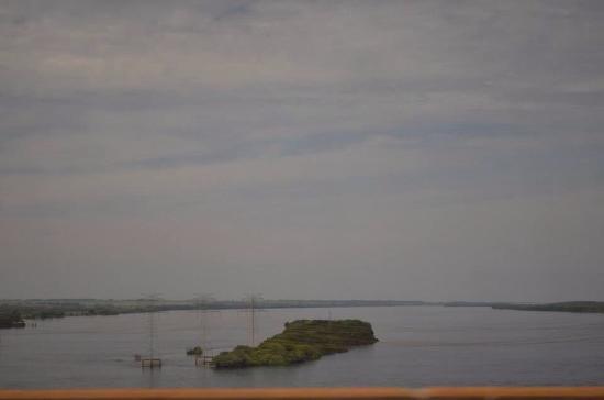 A ilha solteira! Vista da barragem!