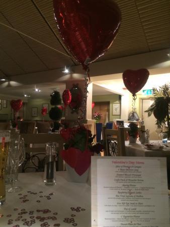 The Birch at Woburn: Valentine's day