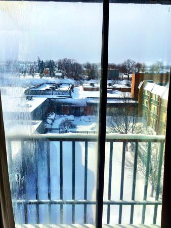 RIT Inn & Conference Center: View from #516 balconette on 2/15/15