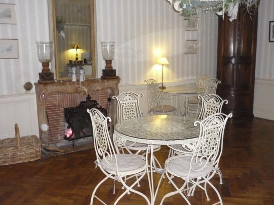 Cote Park : la salle de petit déjeuner