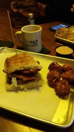 Photo of American Restaurant Tilt - Pearl District at 1355 Nw Everett St Ste 120, Portland, OR 97209, United States