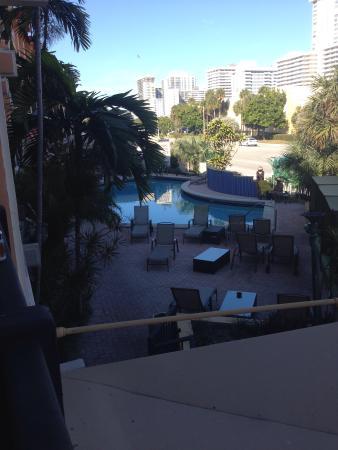 Royal Beach Palace: pool and Rt 1
