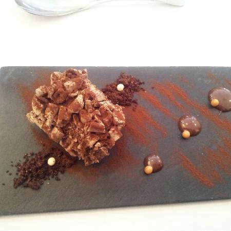 Tarta de chocolate de Er Occitan , Bossóst