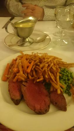 Entrecote: Steak Chateaubriand