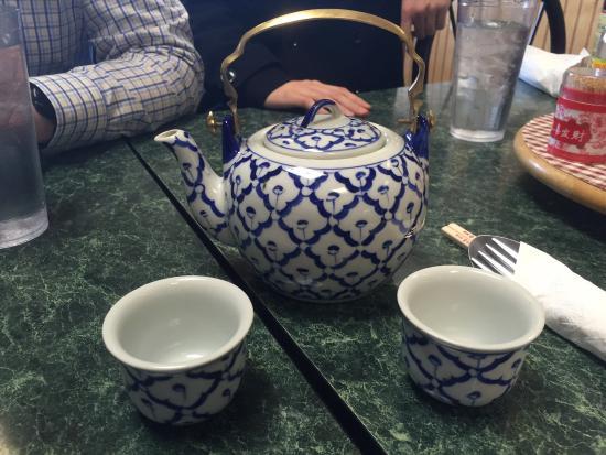 Thai Cafe: Jasmine Green Tea!
