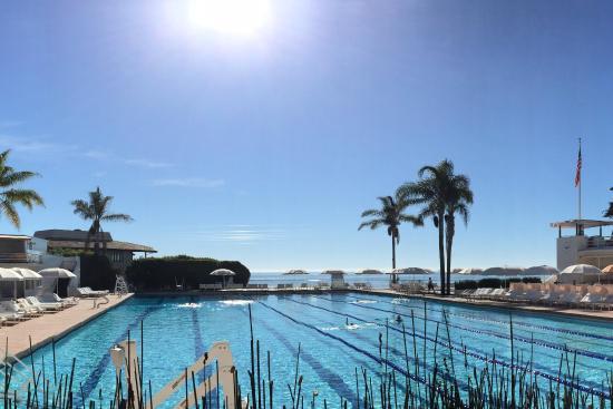 Ocean Front 50 Meter Lap Pool Picture Of Four Seasons Resort The Biltmore Santa Barbara Santa
